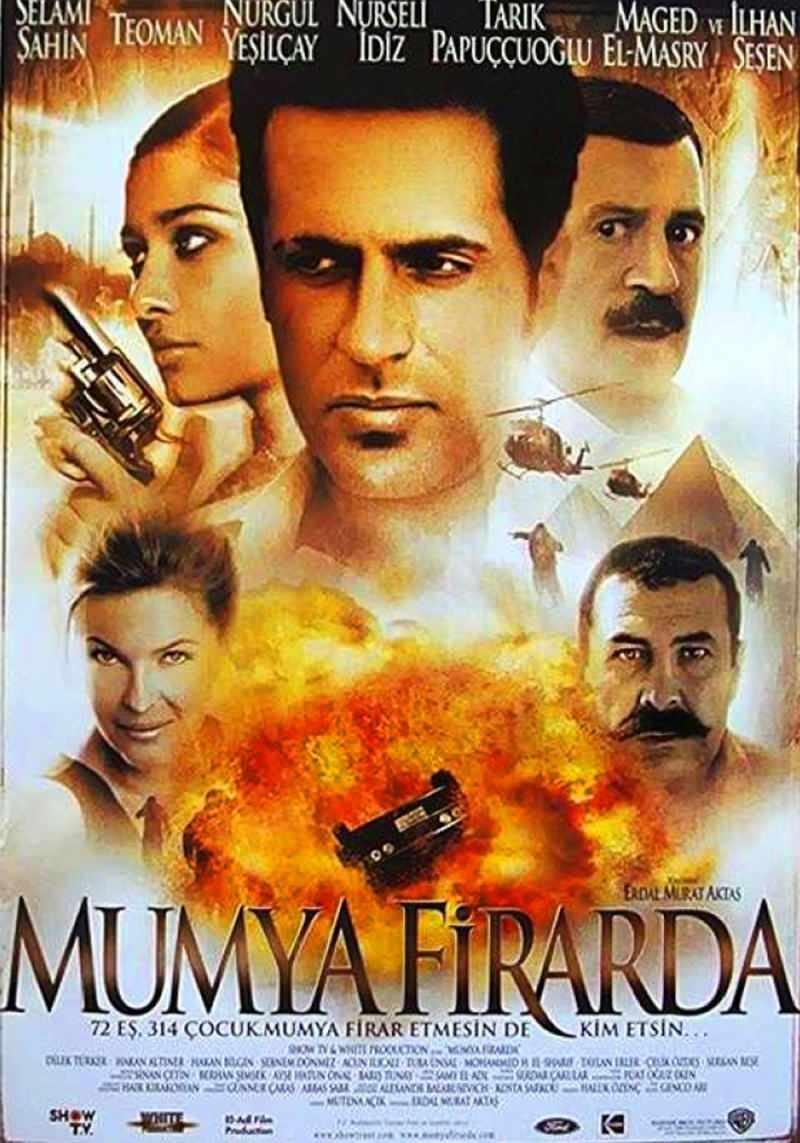 2002 yılında yayınlanan mumya firarda filmi