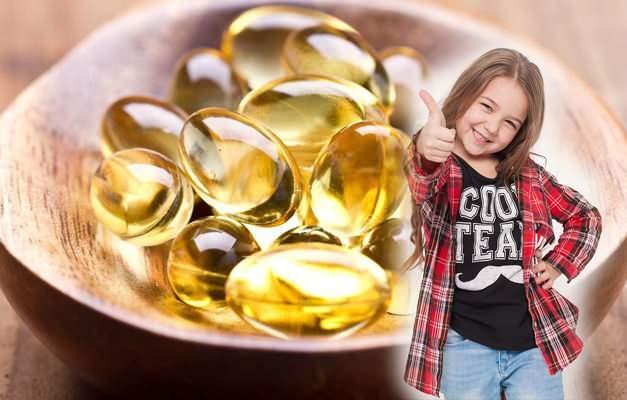 Çocuklarda balık yağı kullanımı