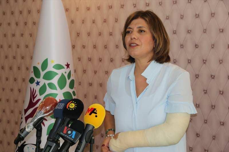 HDP Grup Başkan Vekili ve Siirt Milletvekili Meral Danış Beştaş