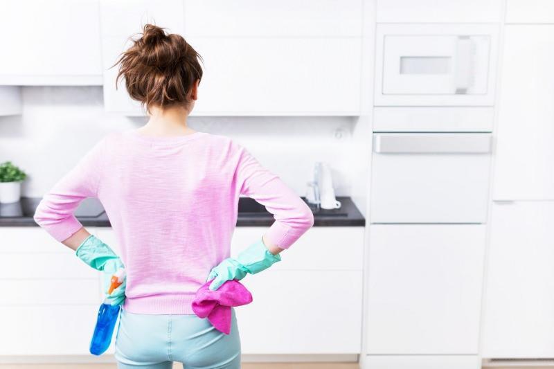 Dip köşe temizliği nasıl yapılır