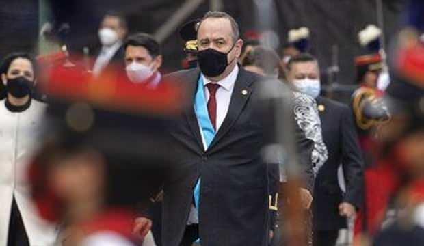 Guatemala'da Devlet Başkanı Alejandro Giammattei