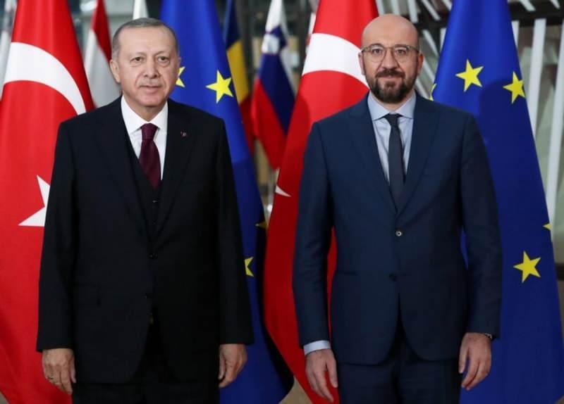 Erdoğan ve Michel