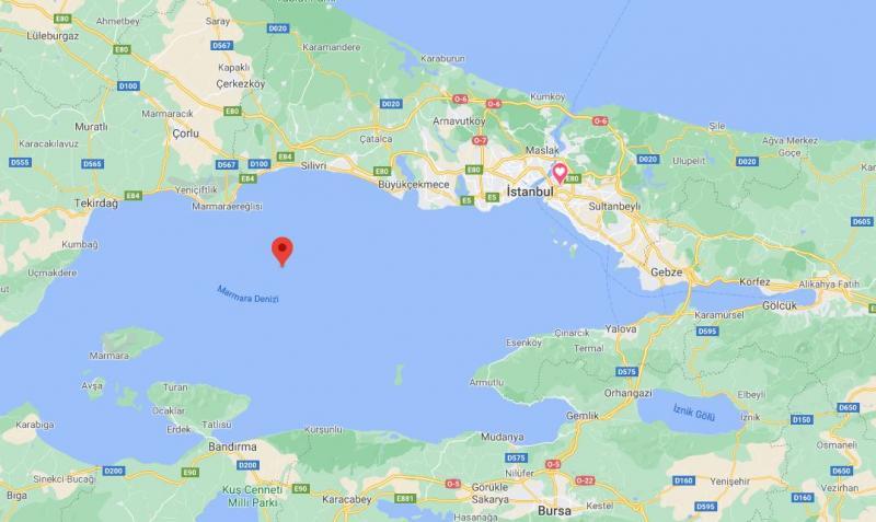 Son depremler son dakika: Marmara açıklarında İstanbul'da da hissedilen bir deprem meydana geldi