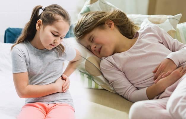 Çocuklarda karın ağrısı neden olur?