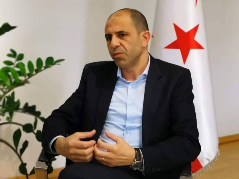Dışişleri Bakanı ve bağımsız cumhurbaşkanı aday Kudret Özersay