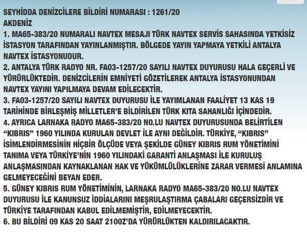 Korsan NAVTEX'e Türkiye'den jet cevap!