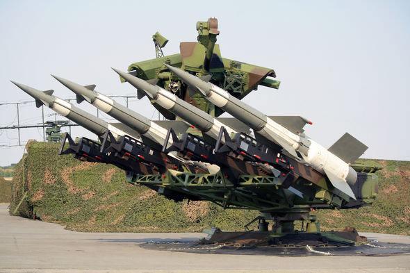 S-125 Hava Savunma Füze Sistemi