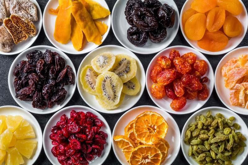 Kurutulmuş meyvelerin faydaları