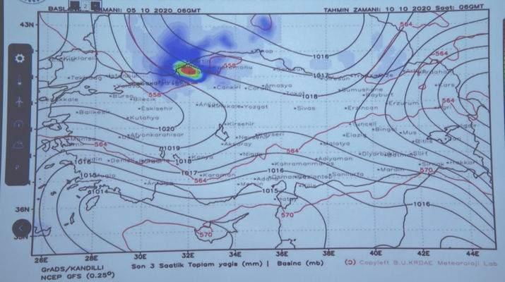 Dolu yağışı saat kaçta başlayacak? Meteoroloji 8 Ekim perşembe günü için saat verdi 3