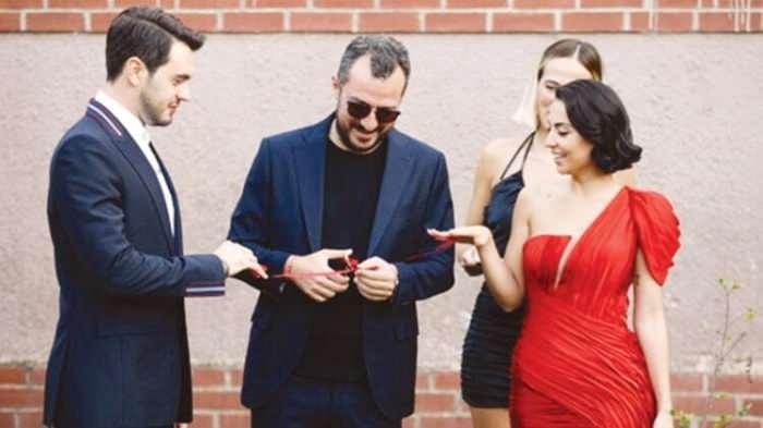 ismail ege şaşmaz ve hande ünal nişanlandı