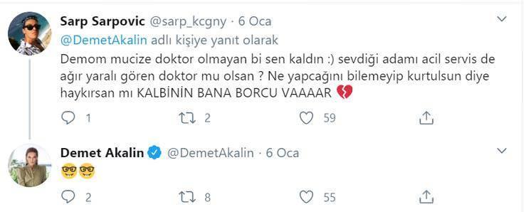 DEMET AKALIN KLİBİNE SENARYO ARIYOR