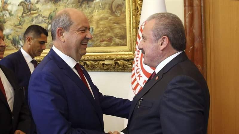 Mustafa Şentop, Ersin Tatar