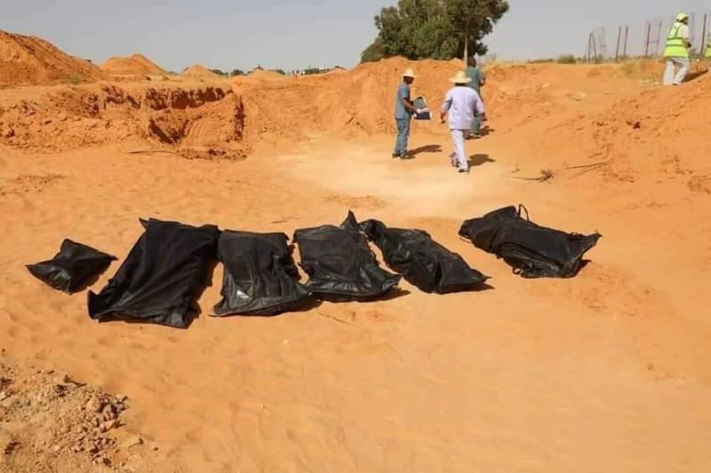 Libya'da 5 toplu mezar daha bulundu