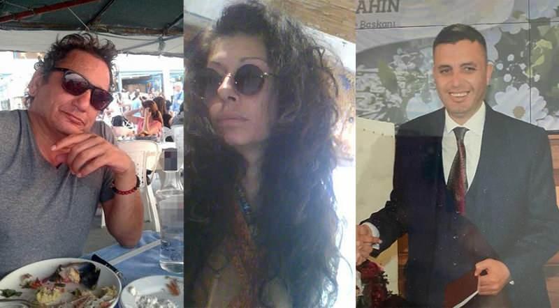 Hasan Çetin Esen (İzmir), Semran Başkurt (Muğla) ve Hakkı Oğuzhan Şahinoğlu (İstanbul) sahte içki yüzünden öldü.