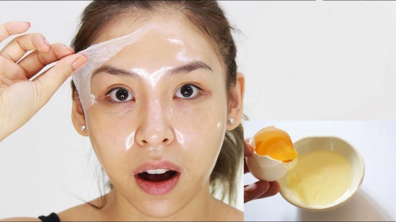Yumurta akının cilde yararları neler? Yumurta akı maskesi