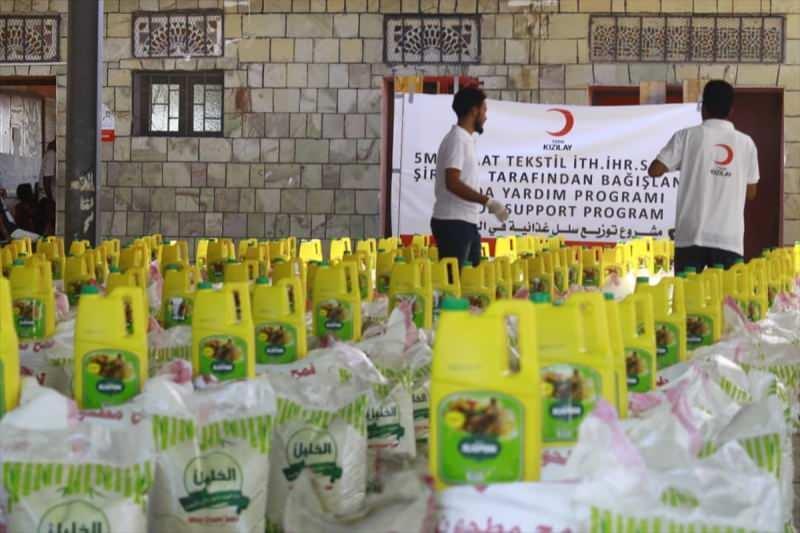 Türk Kızılay'dan Yemen için gıda yardımı kampanyası
