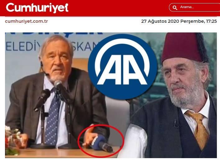 Cumhuriyet Gazetesi'nin AA'yı hedef alan yalan haberi