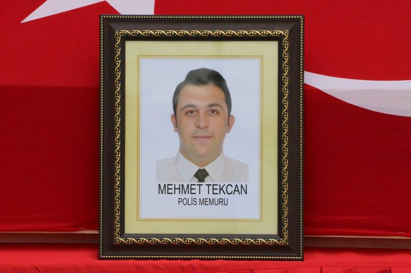 Şehit polis memuru Mehmet Tekcan