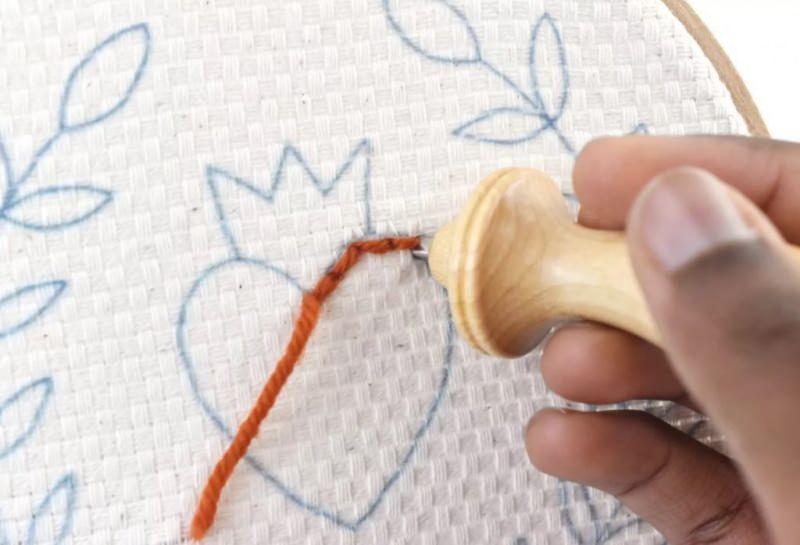 Punch nakışı nedir ve Punch nakış işi nasıl yapılır? Punch nakış işi adım adım yapılışı