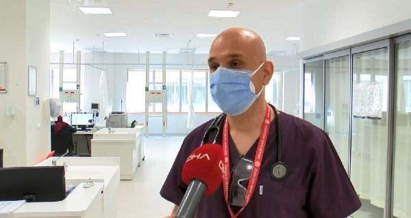 Sağlık Bakanlığı Koronavirüs Bilim Kurulu Üyesi ve Ankara Şehir Hastanesi Acil Tıp Kliniği Eğitim Görevlisi Doç. Dr. Afşin Emre Kayıpmaz,