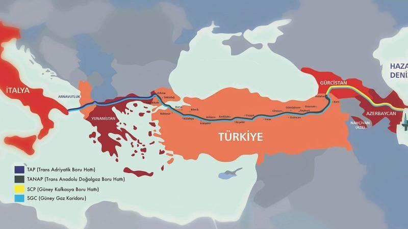 TANAP (Trans Anadolu doğalgaz boru hattı)