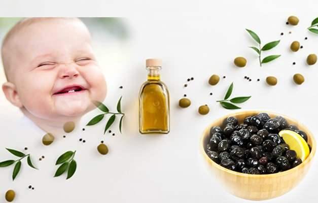 Bebeklerde zeytin kullanımı
