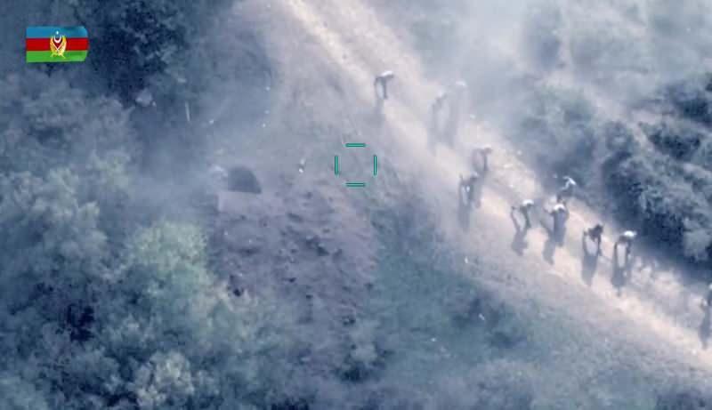 Kaçan Ermenistan askerleri