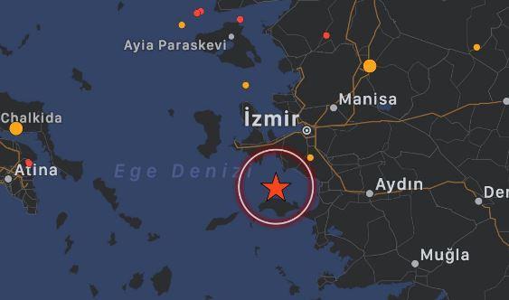 Son dakika haberi: Ege'de çok şiddetli bir deprem meydana geldi.