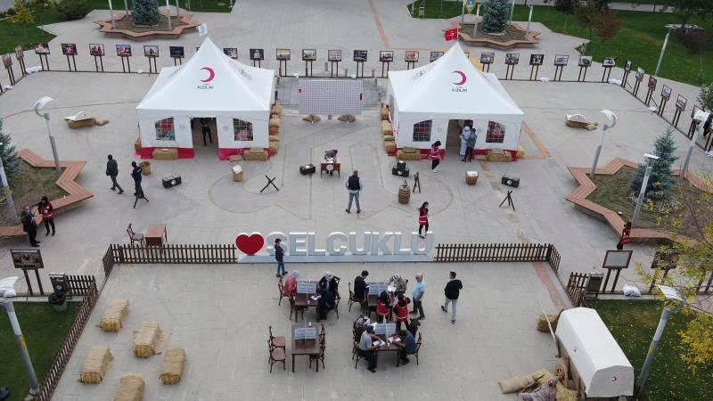 Selçuklu'da 'Çanakkale' temalı 1071 kan bağışı
