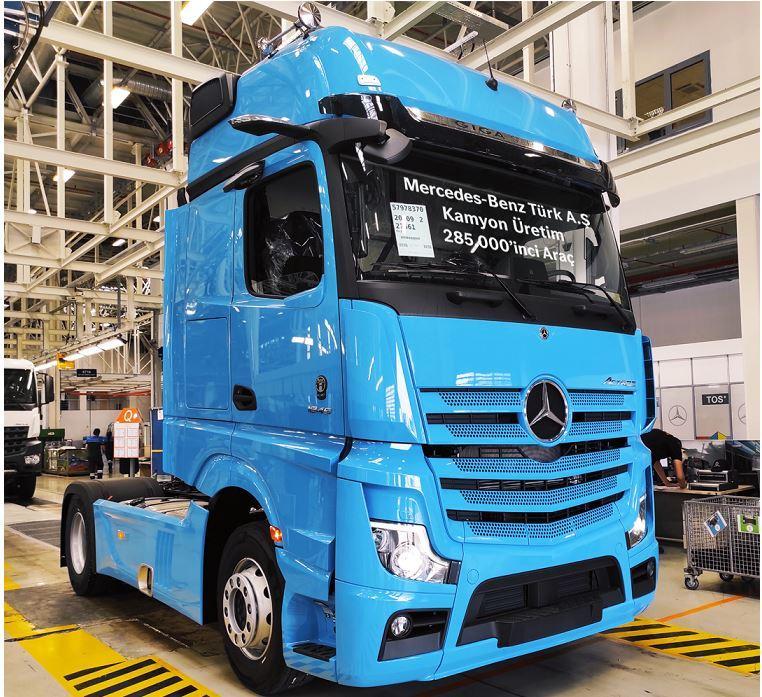 Mercedes-Benz Türk Aksaray Kamyon Fabrikası
