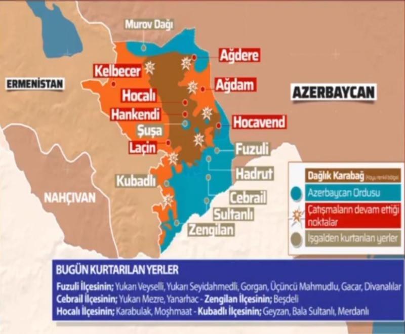 9 Kasım son durum haritası