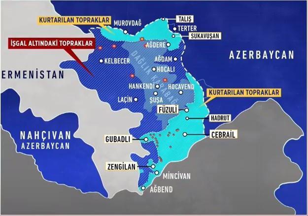 28 Ekim son durum haritası