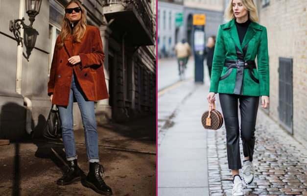 Kadife ceketler