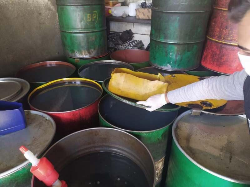Mardin'de 11 bin litre kaçak akaryakıt ele geçirildi