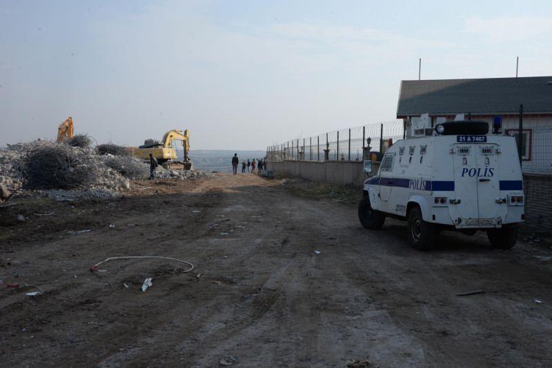 Kırklar Dağı'nda yıkılan ultra lüks konutlar