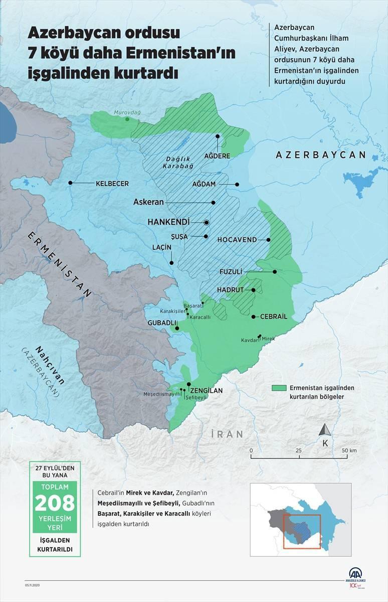 5 Kasım son durum haritası