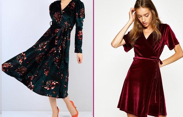 Kadife elbiseler