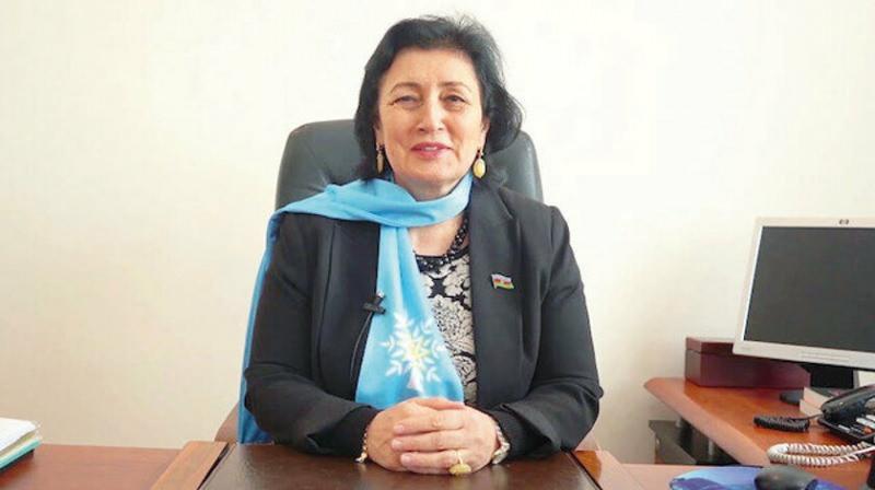 Azerbaycan Milletvekili Melahat İbrahimqızı.