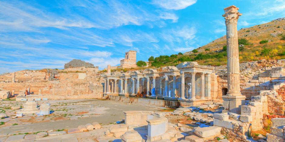 """""""Aşkların ve imparatorların şehri"""" Sagalasssos Antik Kenti"""