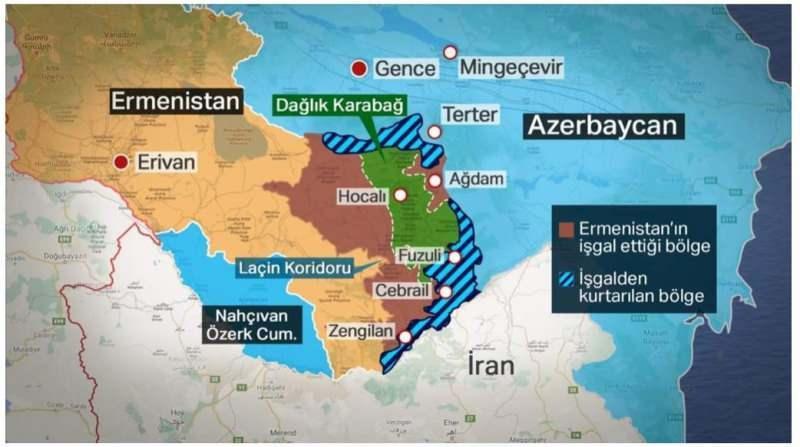 22 Ekim son durum haritası