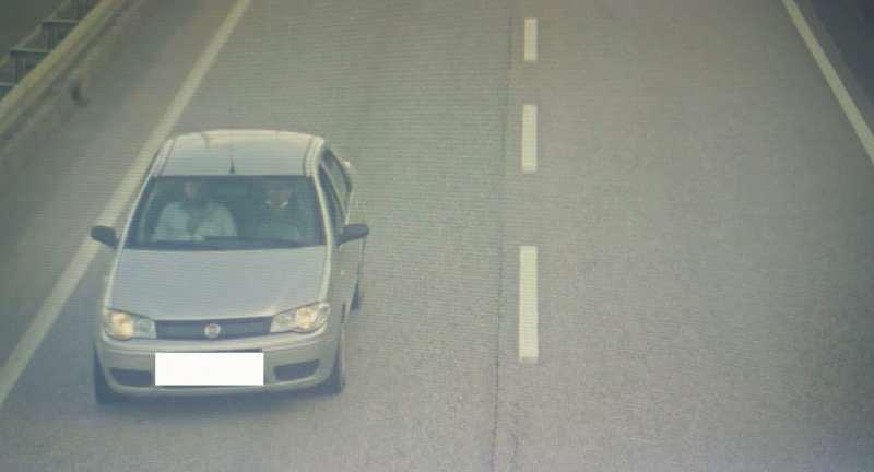 Şüphelilerin olay öncesi ve sonrası kiraladıkları araç ile pts geçiş görüntüleri