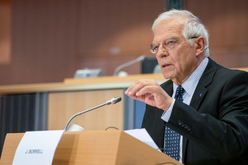 Avrupa Birliği (AB) Dış İlişkiler ve Güvenlik Politikası Yüksek Temsilcisi Josep Borrell.