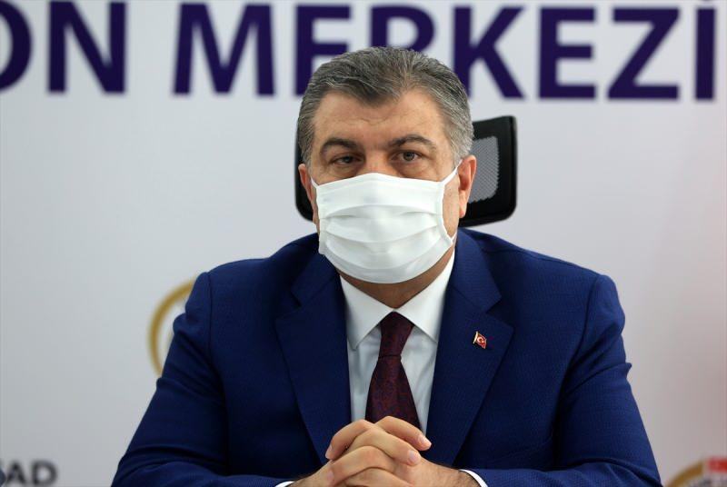 Sağlık Bakanı Fahrettin Koca, son dakika, açıklama