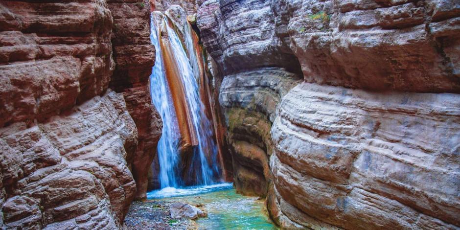 Gizli kalmış şelaleleriyle Acıpayam Kanyonu turizme kazandırılıyor