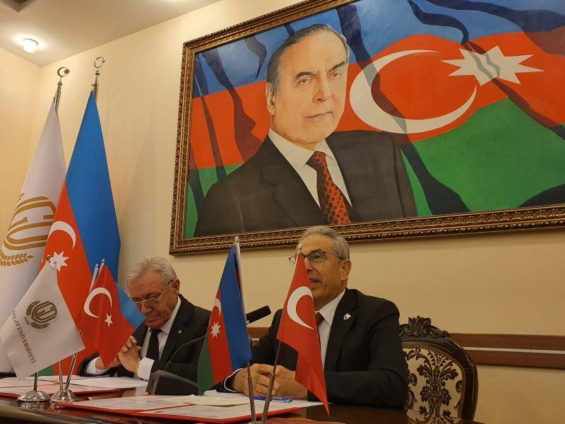 Nişantaşı ve Gence Devlet Üniversitelerinden Ermenistan'ın Azerbaycan'a saldırılarına kınama