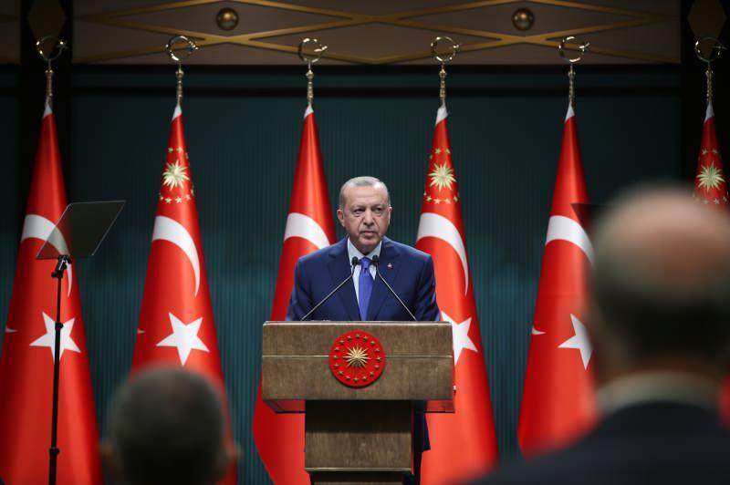Erdoğan kabine toplantısı