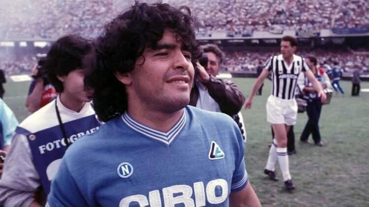 Diego Armando Maradona (Napoli yıllarından)