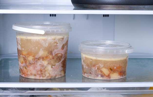 çorba buzlukta saklama