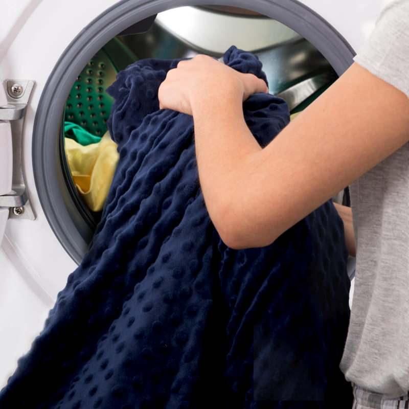 Battaniyeleri makinede yıkama