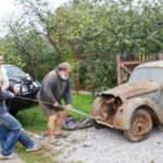 Garajda unutulan aracın son hali şaşkına çevirdi!